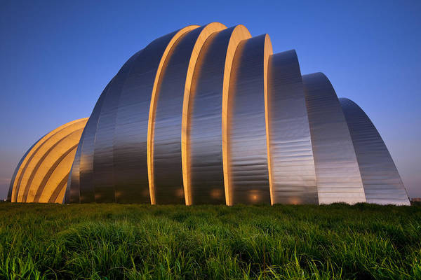 Kauffman Center Art Print