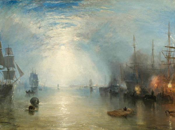 J. M. W. Turner Painting - Keelmen Heaving In Coals By Moonlight by JMW Turner