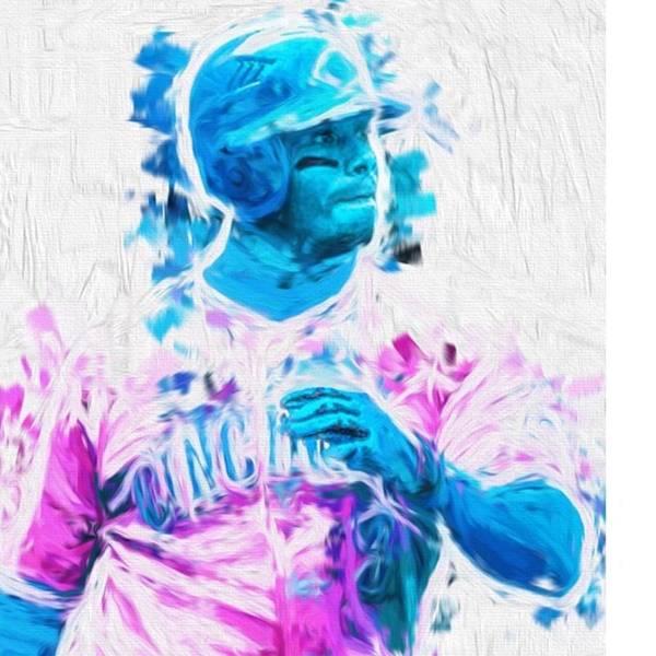 Baseball Wall Art - Photograph - #kengriffeyjr #baseball #springtraining by David Haskett II