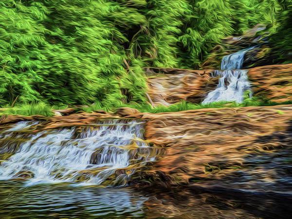 Photograph - Kent Falls by Paul Wear