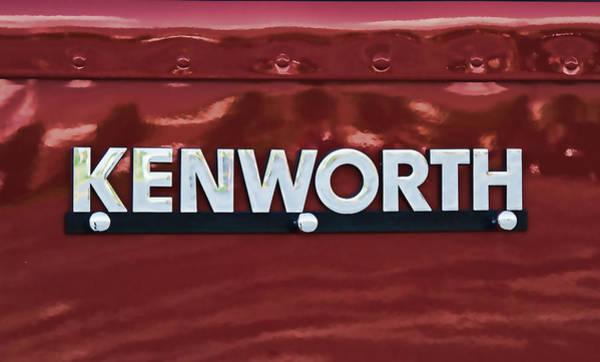 Kenworth Photograph - Kenworth Semi Truck Logo by Nick Gray