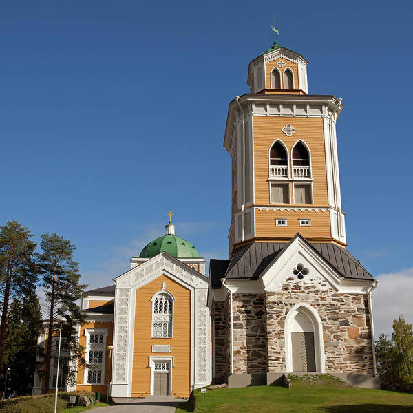Photograph - Kerimaki Church by Aivar Mikko