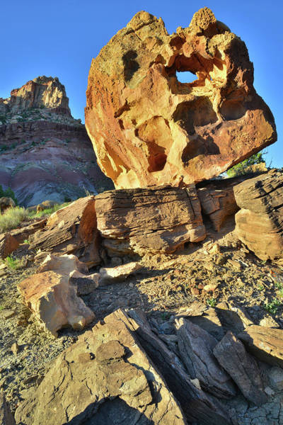 Photograph - Keyhole Rock by Ray Mathis