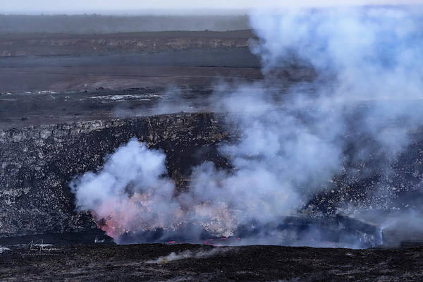 Photograph - Kilauea Halema'uma'u Crater by Jim Thompson