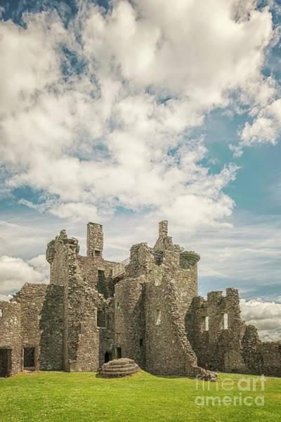 Wall Art - Photograph - Kilchurn Castle Courtyard by Antony McAulay