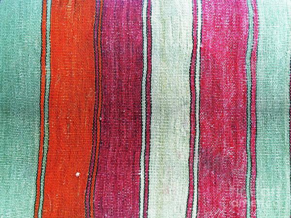 Wall Art - Photograph - Kilim Pattern by Tom Gowanlock