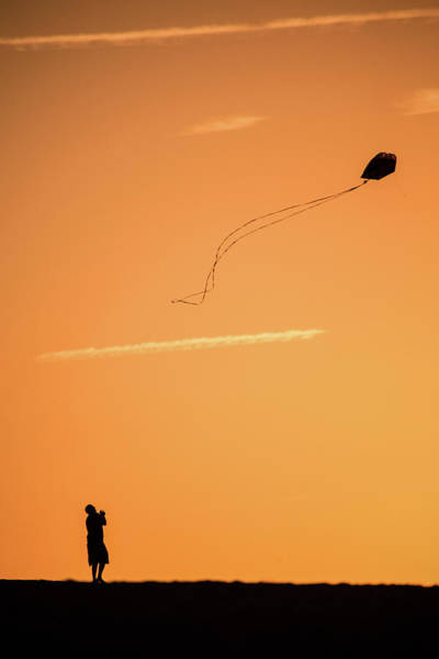 Photograph - Kite Flying In The Outer Banks by Don Johnson