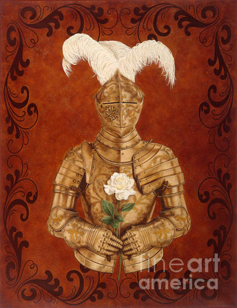Wall Art - Painting - Knight Of Romance by Lawrence Supino