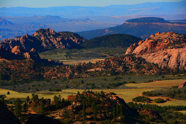 Photograph - Kolob Plateau In Zion by Raymond Salani III