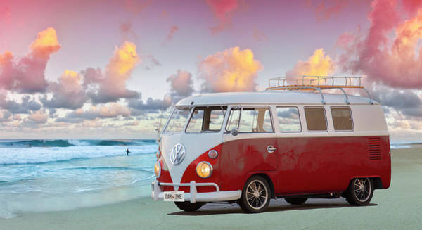 Wall Art - Photograph - Kombi Beach by Sean Davey