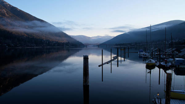 Nelson Bc Photograph - Kootenay Lake by James Fenning