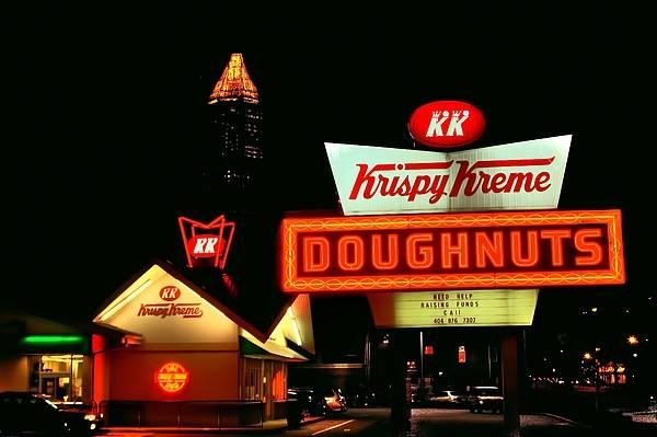 Wall Art - Photograph - Krispy Kreme Doughnuts Atlanta  by Corky Willis Atlanta Photography