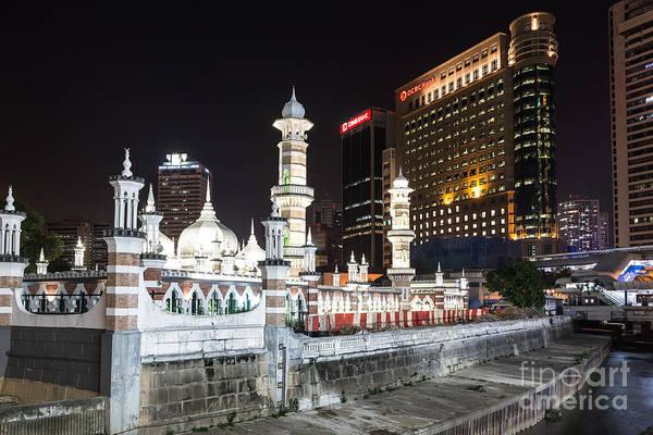 Photograph - Kuala Lumpur Jamek Masjid by Didier Marti