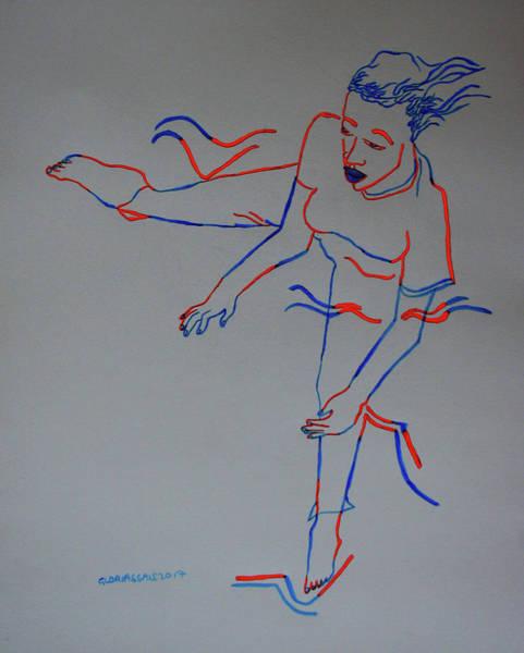 Painting - Kuduro Traditional Dance Angola by Gloria Ssali