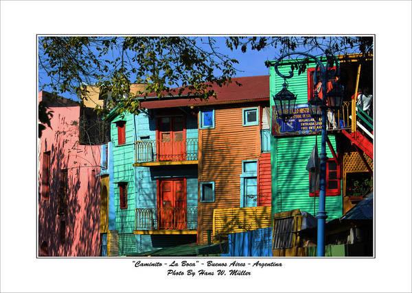 Cabildo Wall Art - Photograph - La Boca Buenos Aires by Hans Wolfgang Muller Leg