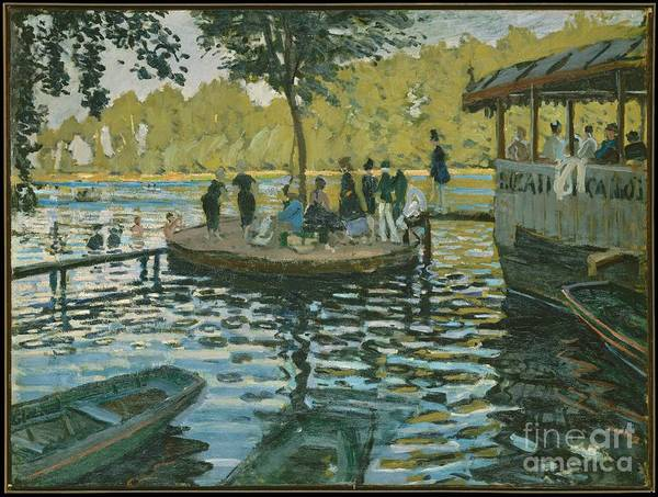 Painting - La Grenouillere by Celestial Images