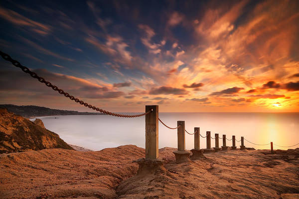 Wall Art - Photograph - La Jolla Sunset 2 by Larry Marshall