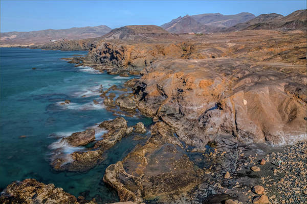 Berge Wall Art - Photograph - La Pared - Fuerteventura by Joana Kruse