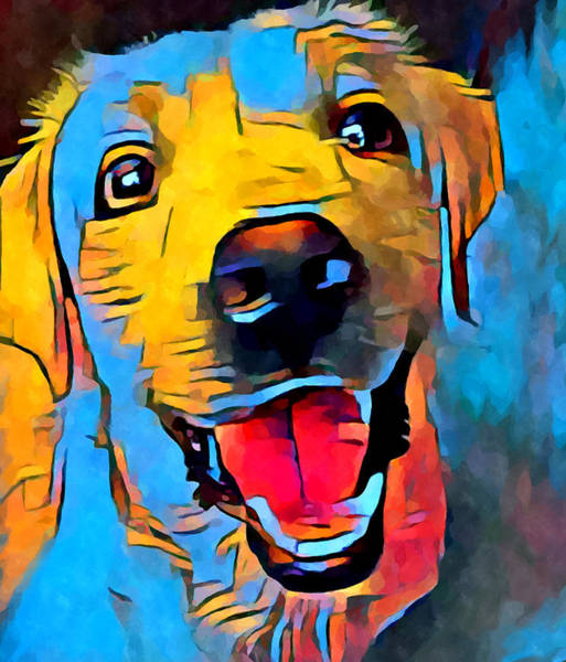 Wall Art - Painting - Labrador Retriever 2 by Chris Butler