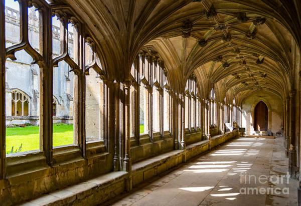 Photograph - Lacock Abbey Cloisters by Colin Rayner