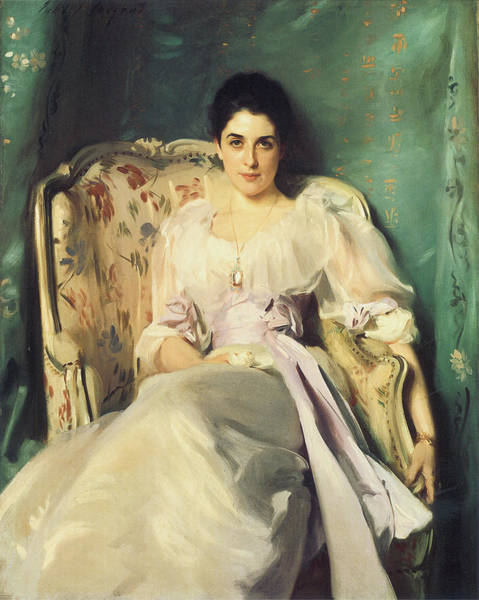 Wing Back Photograph - Lady Agnew Of Lochnaw by John Singer Sargent