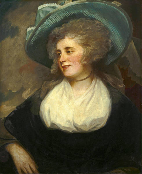 Romney Painting - Lady Arabella Ward by George Romney