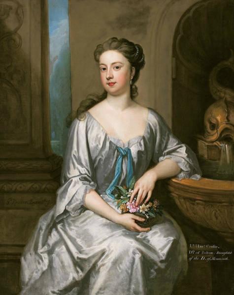 Bolton Wall Art - Painting - Lady Henrietta Crofts, Duchess Of Bolton by Godfrey Kneller