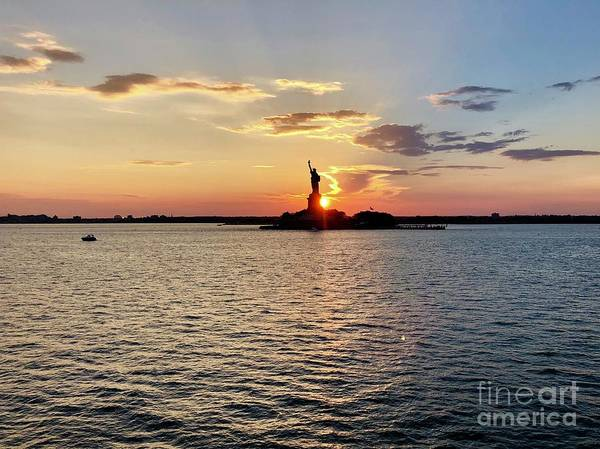 Photograph - Lady Liberty by Flavia Westerwelle