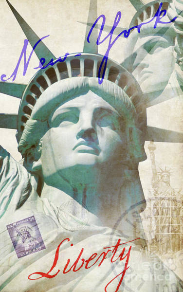Wall Art - Photograph - Lady Liberty by Jon Neidert