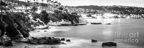 Laguna Mountains Photograph - Laguna Beach California Panoramic Photo by Paul Velgos