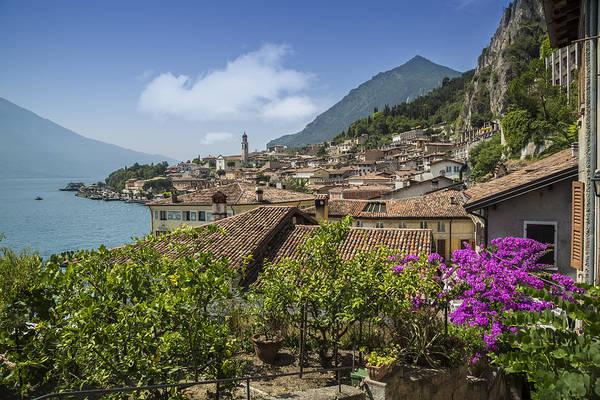 Lake Canyon Photograph - Lake Garda Limone Sul Garda by Melanie Viola