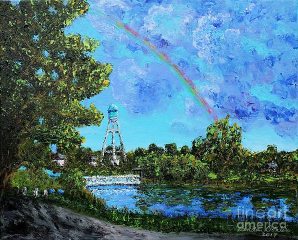 North Dakota Painting - Lake Hiawatha by Linda Donlin