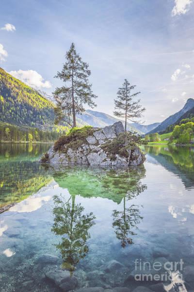 Wall Art - Photograph - Lake Hintersee by JR Photography