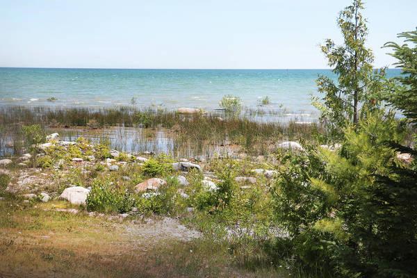 Photograph - Lake Huron, Presque Isle, Michigan by Kelly Hazel