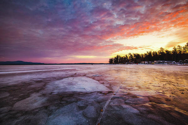 Photograph - Lake Ice by Robert Clifford