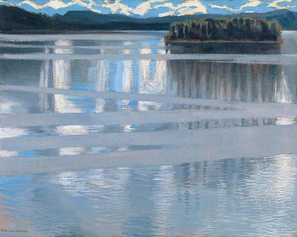 Painting - Lake Keitele by Akseli Gallen-kallela