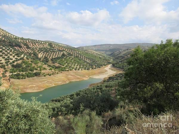 Photograph - Lake Near Iznajar by Chani Demuijlder