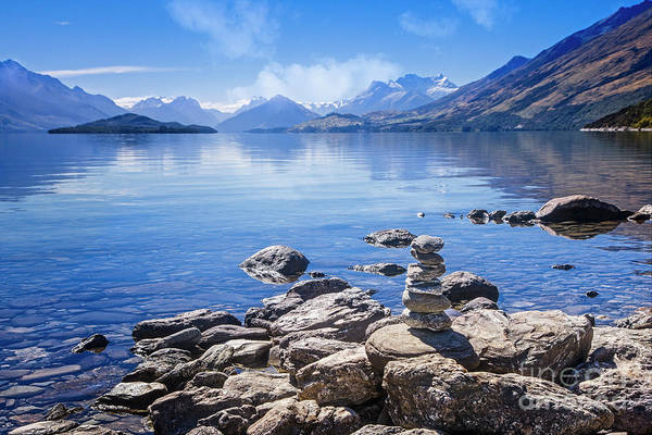 Photograph - Lake Wakatipu 2 by Scott Kemper