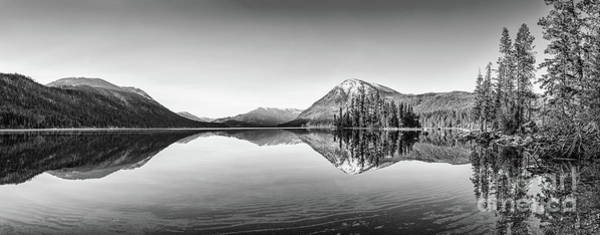 Wall Art - Photograph - Lake Wenatchee Panorama by Jamie Pham