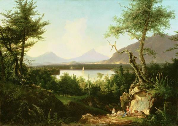 Lake Winnipesaukee Wall Art - Painting - Lake Winnipesaukee by Thomas Cole
