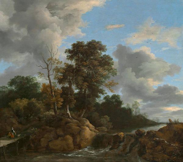 Wall Art - Painting - Landscape by Jacob Van Ruisdael
