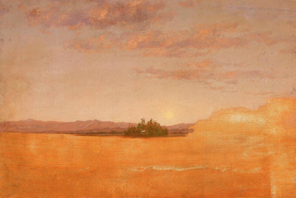 Wall Art - Painting - Landscape Sketch by Thomas Cole