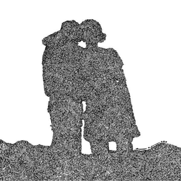 Lara And Felix Art Print by Karl Addison