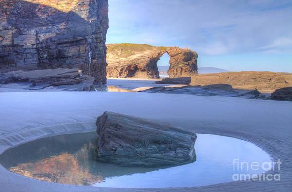 Photograph - Las Catedrales Playa by Heiko Koehrer-Wagner