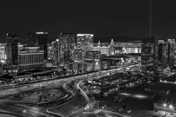 Photograph - Las Vegas Luxor Sky Beam by Susan Candelario