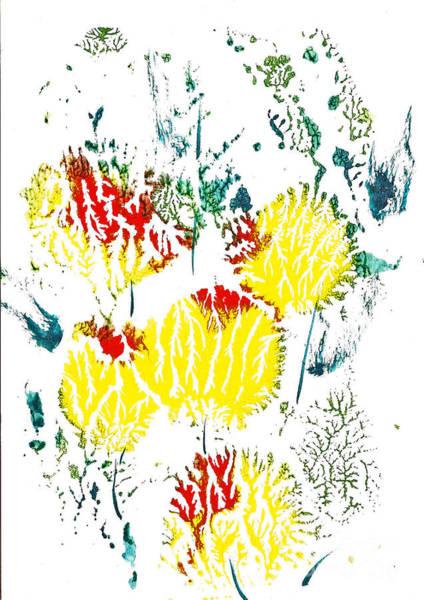 Painting - Last Of Tulips 1 by Asha Sudhaker Shenoy