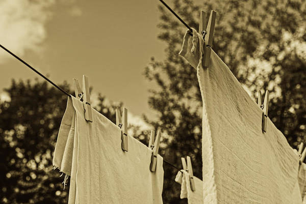 Wall Art - Photograph - Laundry Day by Skitterphoto