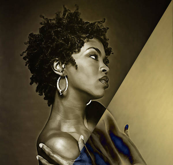 Wall Art - Mixed Media - Lauryn Hill Collection by Marvin Blaine