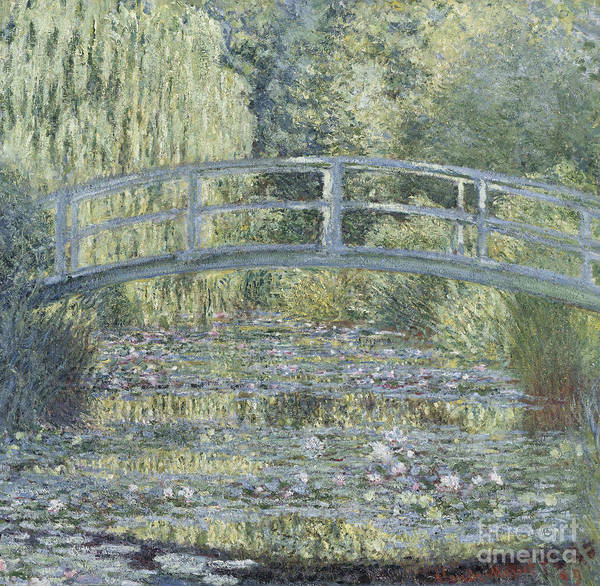 Painting - Le Bassin Aux Nympheas by Celestial Images