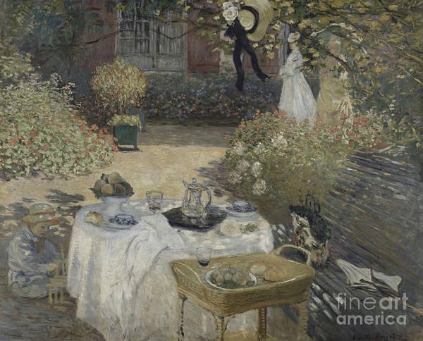 Painting - Le Dejeuner by Celestial Images